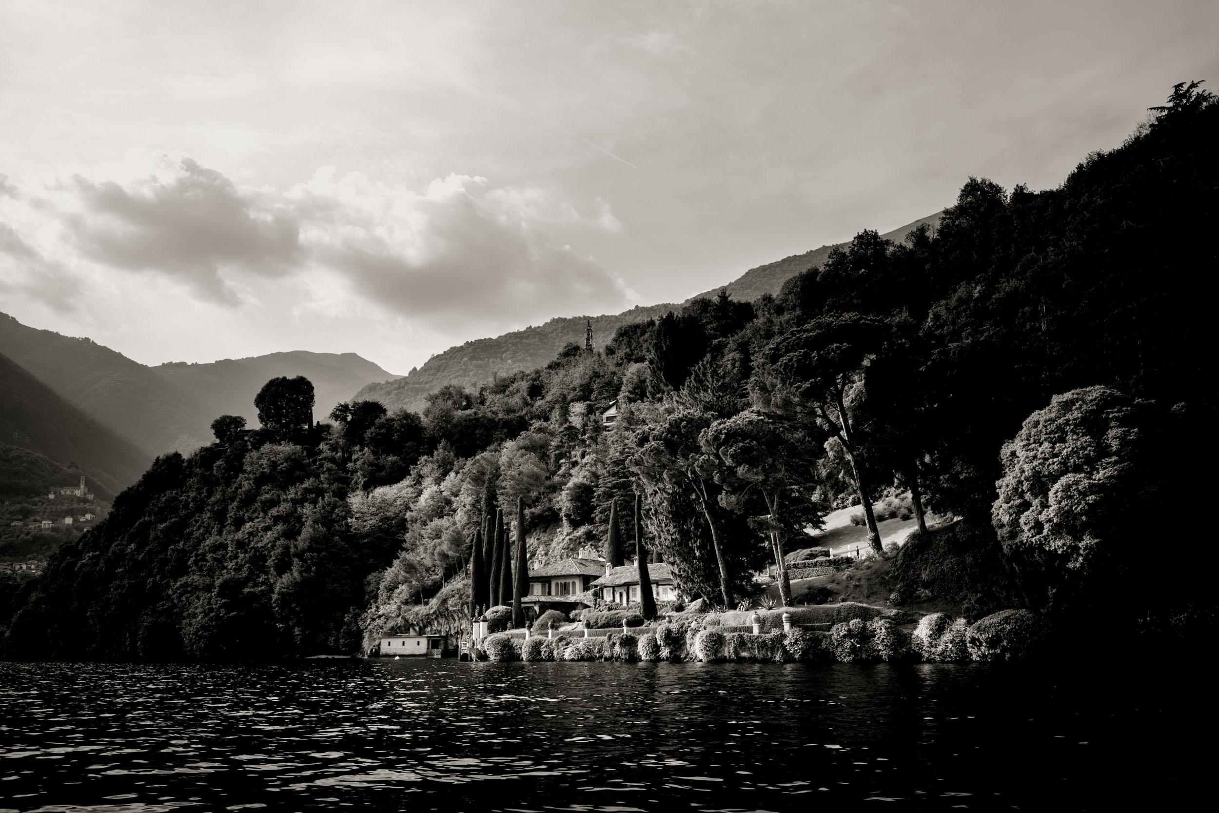 Luxury Lake Como Richard Branson house at Bellagio Photographer Bojan Hohnjec